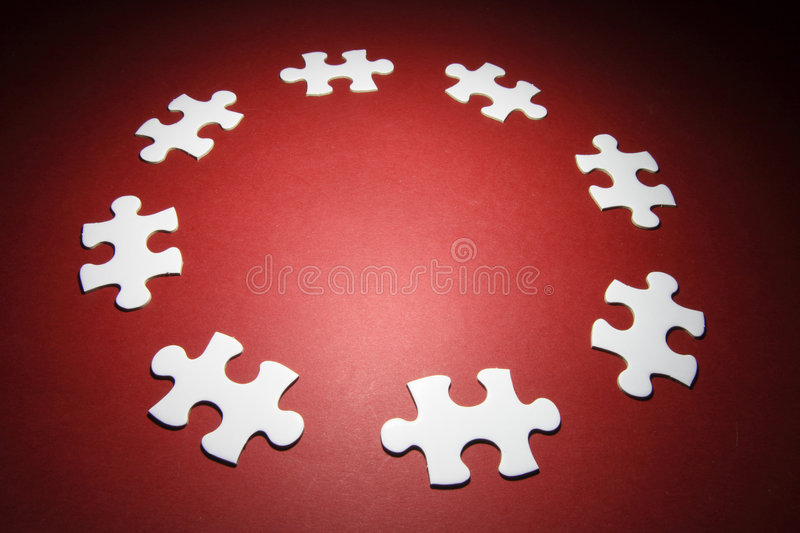 Download Jigsaw Puzzle Pieces stock image. Image of link, solution - 8723029