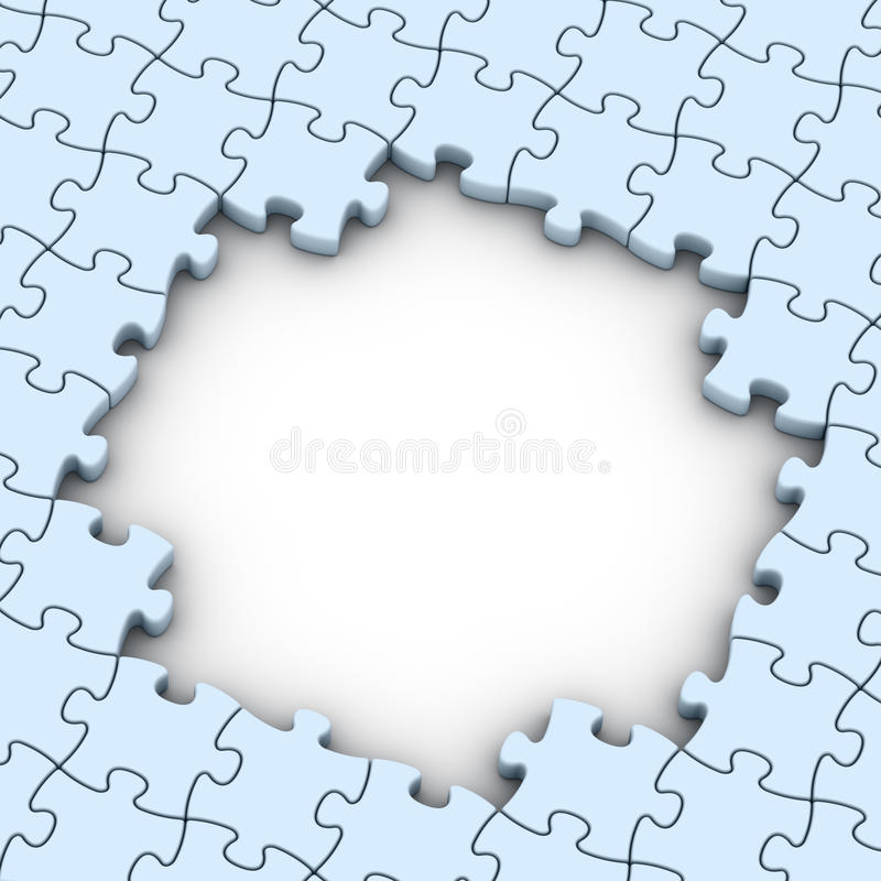 Download Jigsaw puzzles background stock illustration. Image of jigsaw - 21716110