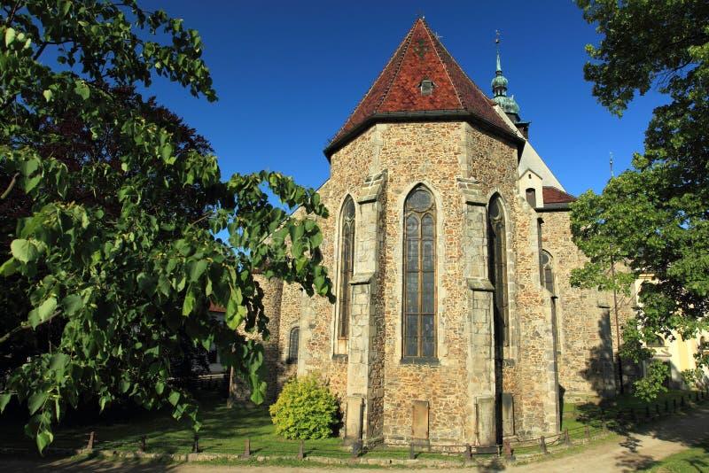Jihlava - Saint James church. The gothic saint James church in Jihlava, Czech Republic royalty free stock photos