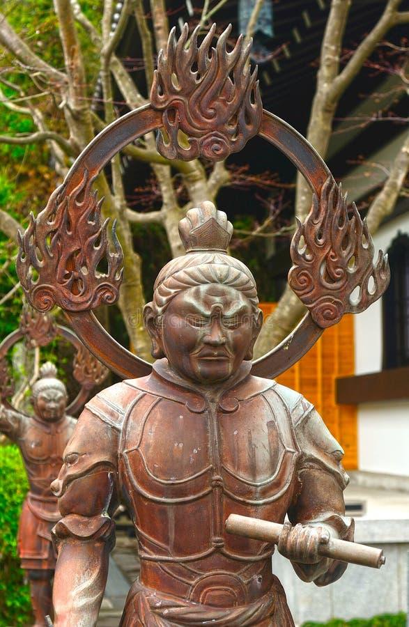 Jikoku-tien stock afbeelding