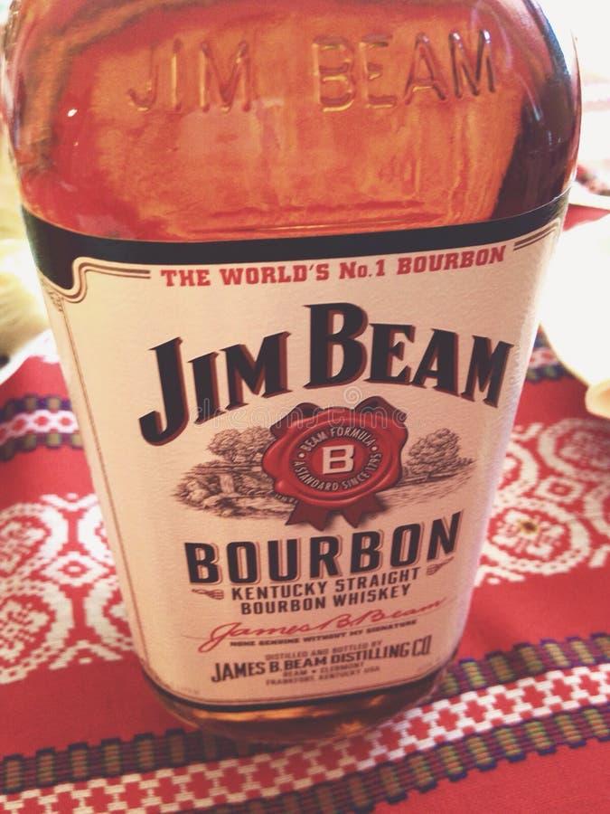 Jim Beam immagini stock