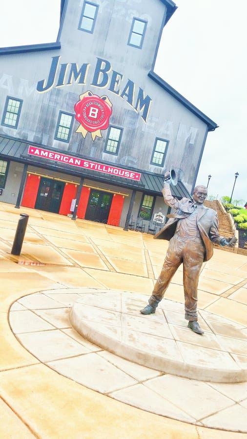 Jim Beam Distillery immagine stock libera da diritti
