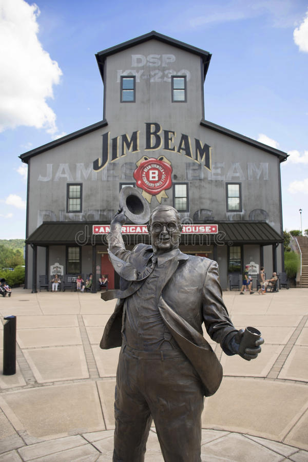 Jim Beam Distillery images libres de droits