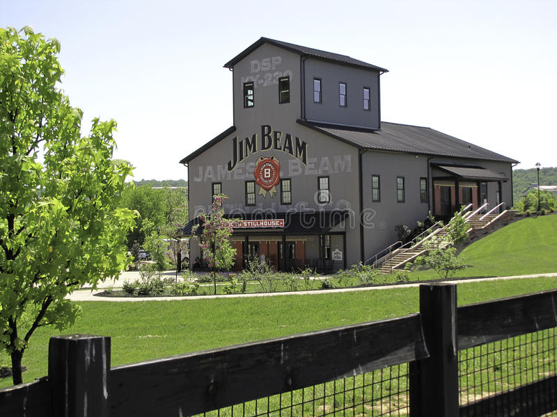 Jim Beam Stillhouse stock photography