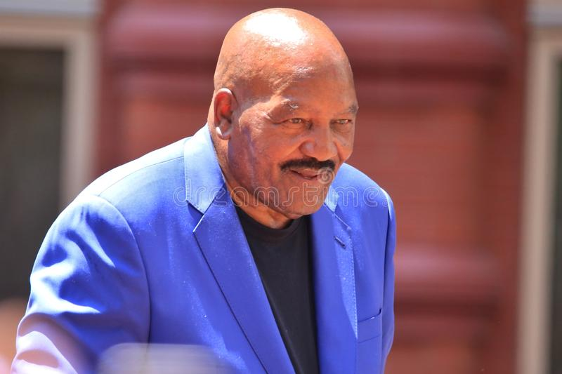 Jim Brown image libre de droits