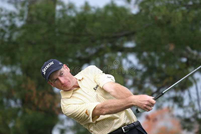 Jim furyk, Ausflug-Meisterschaft, Atlanta, 2006 lizenzfreies stockbild