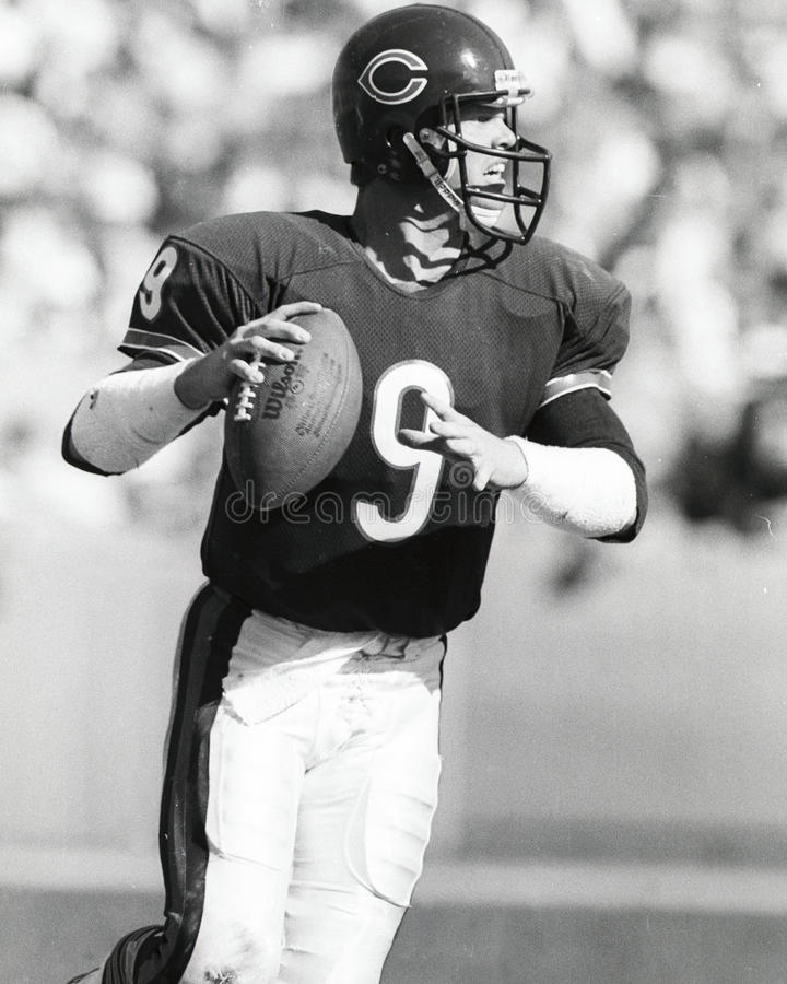 Jim McMahon photo libre de droits