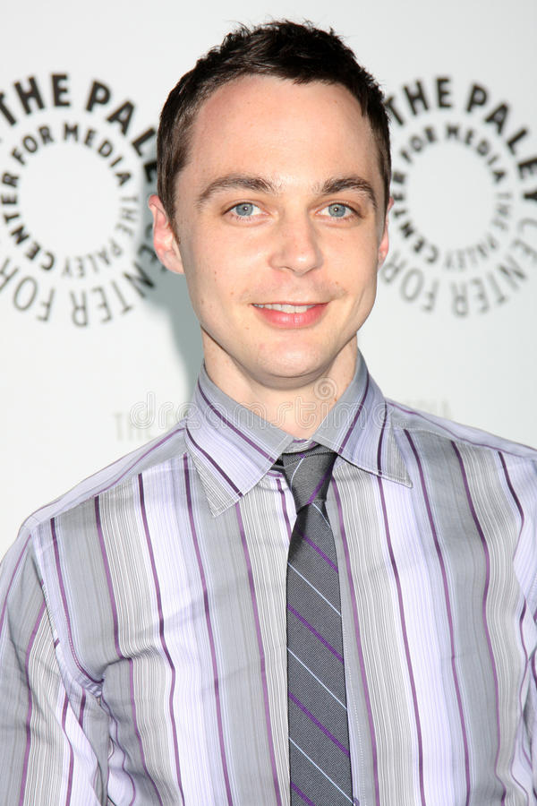 Jim Parsons, PASTEUR de JIM, Big Bang image stock