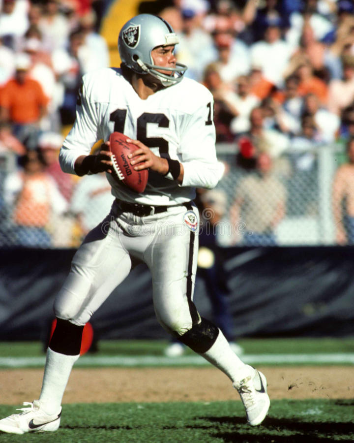 Jim Plunkett photo libre de droits