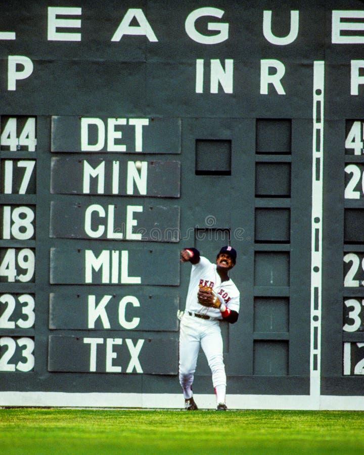 Jim-Reis Boston Red Sox lizenzfreies stockbild