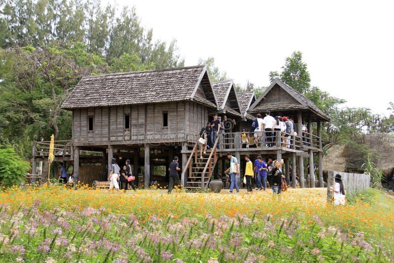 Jim Thompson Farm, Thailand royalty-vrije stock foto