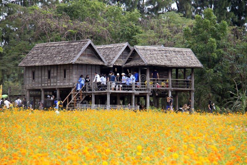Jim Thompson Farm, Thailand stock afbeeldingen