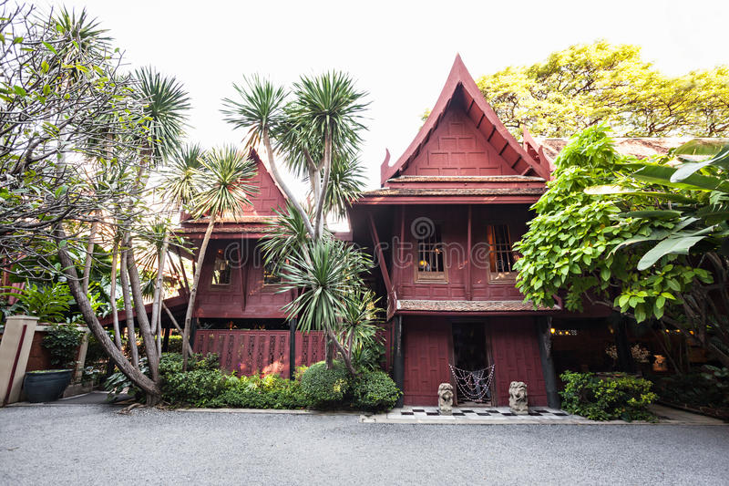 Jim Thompson House images libres de droits