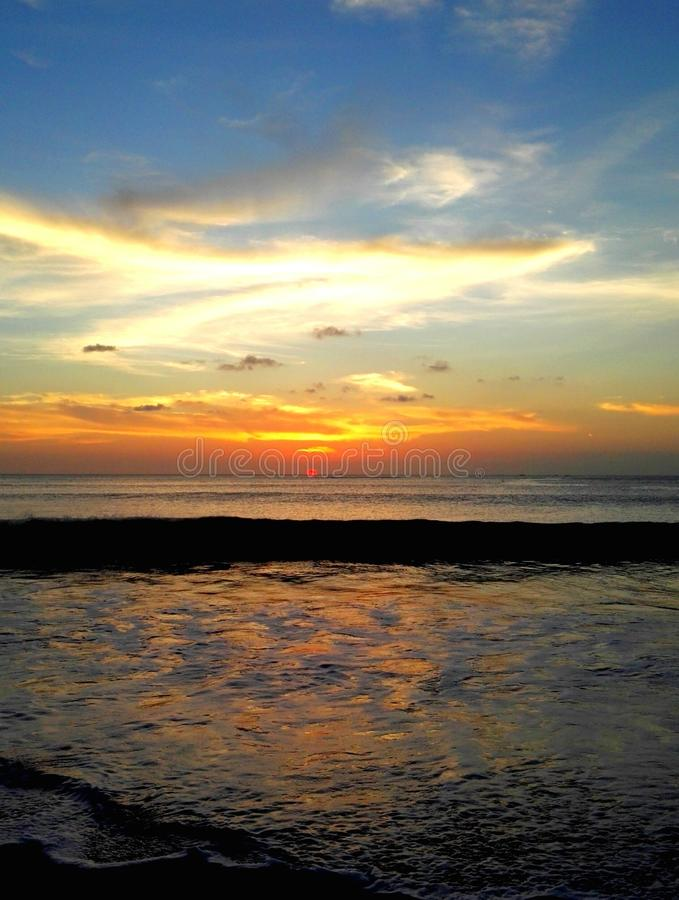 Jimbaran巴厘岛 库存图片