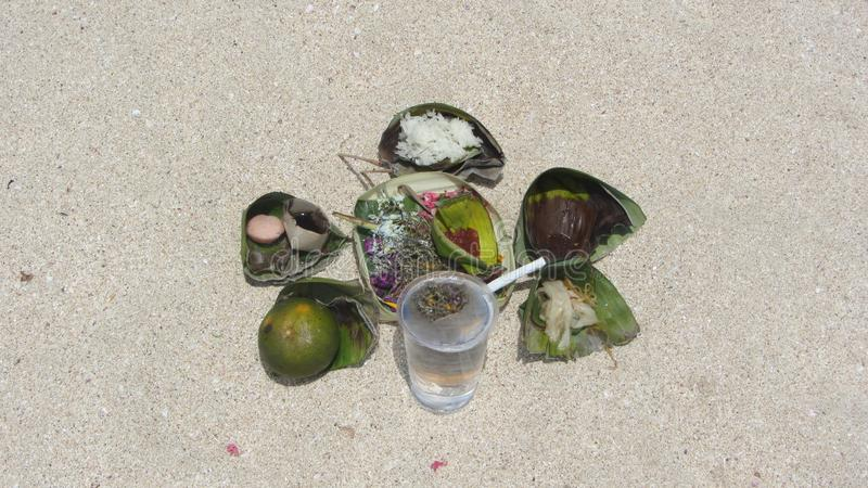 Jimbaran plaża, Bali wyspa, indonezyjczyk obraz royalty free
