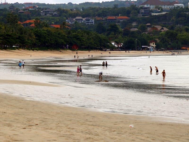 Jimbaran-Strand von Bali lizenzfreie stockfotos