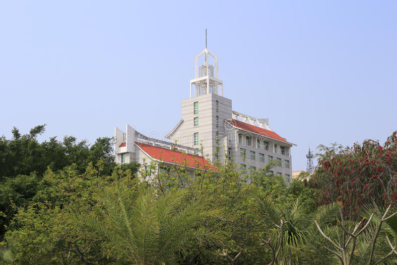 Jimei universitet royaltyfria foton