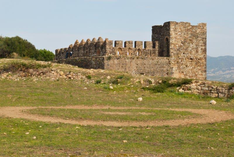 Download Jimena Castle stock image. Image of building, castle - 22012665