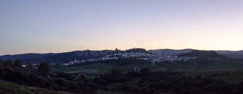 Jimena de losu angeles Frontera krajobraz zdjęcia royalty free