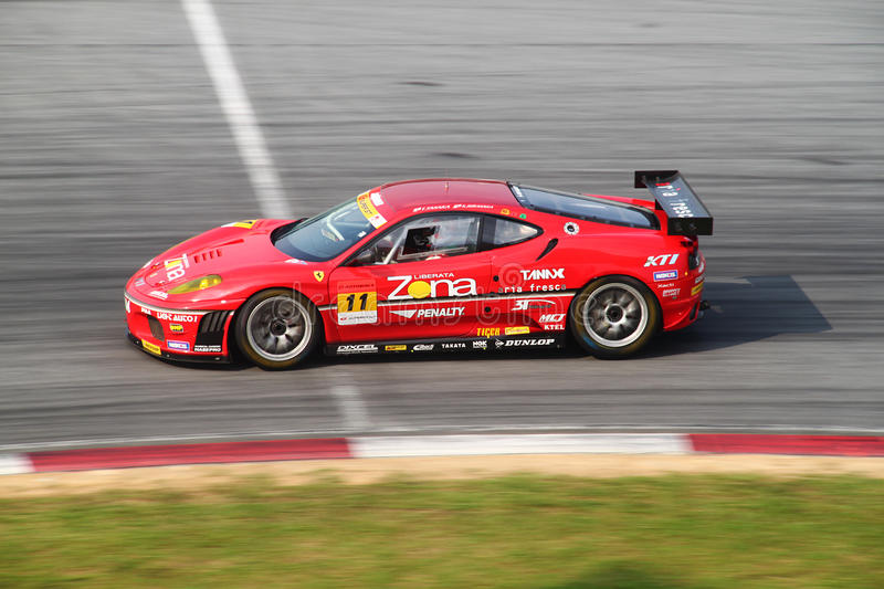 Download JimGainer Ferrari 11, SuperGT 2010 Editorial Image - Image: 14854200