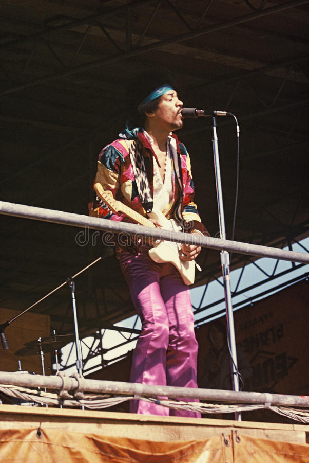 Download Jimi Hendrix editorial photography. Image of open, music - 9465147