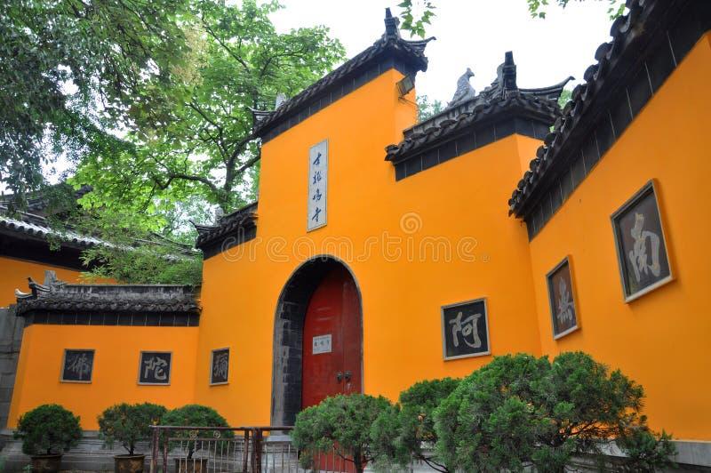 Jiming Temple, Nanjing stock photos