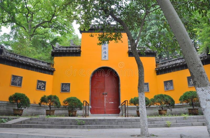 Jiming Temple, Nanjing, China royalty free stock photos