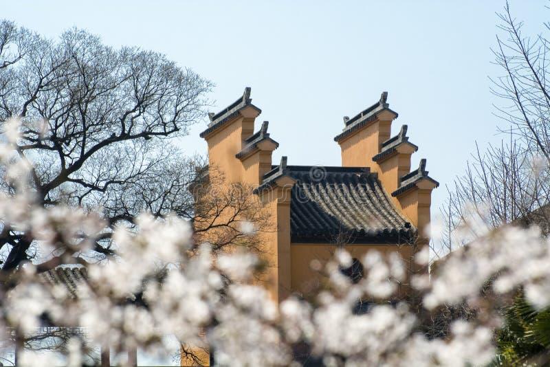 Jiming Temple, Nanjing. Main Entrance of Jiming Temple, Nanjing, Jiangsu Province, China. Jiming Temple royalty free stock images