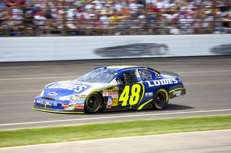 Jimmie Johnson stockfotos
