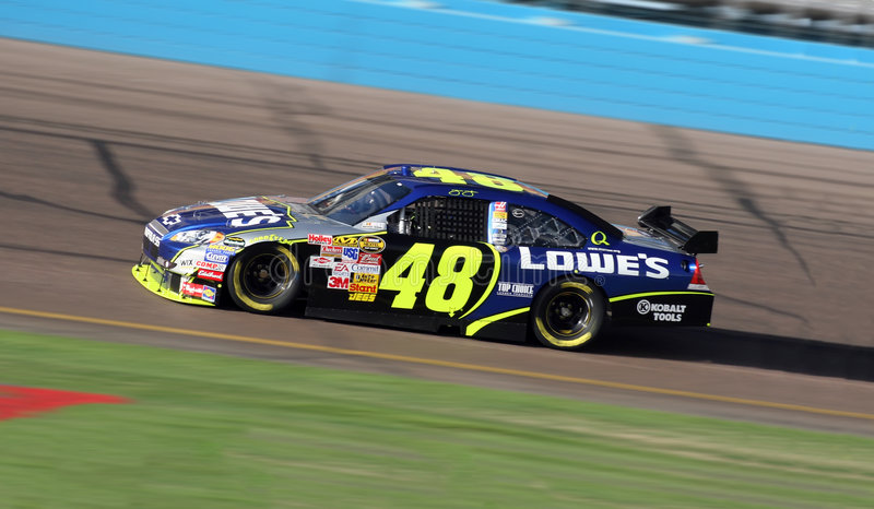 Download Jimmie Johnson 48 editorial stock image. Image of drive - 8076929