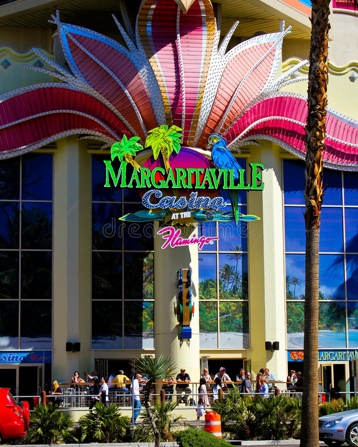 Margaritaville, Las Vegas, NV fotografia stock