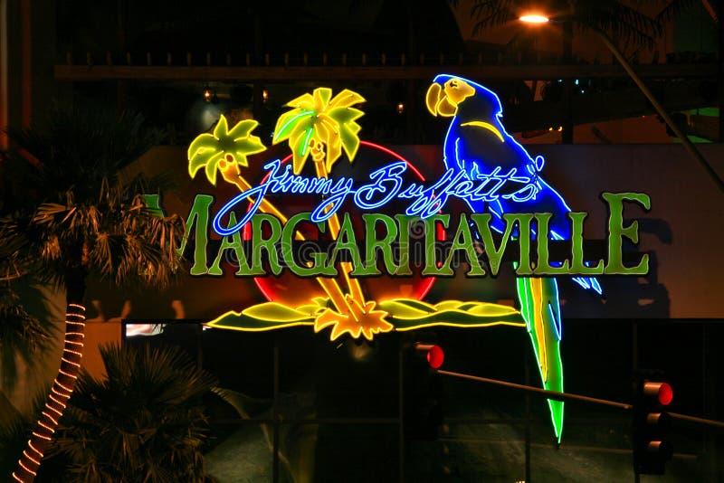 Jimmy Buffetts Margaritaville fotografia stock