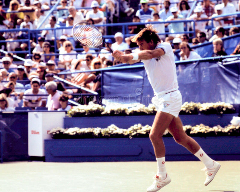 Jimmy Connors image stock