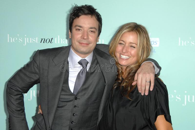 Download Jimmy Fallon, Nancy Juvonen Editorial Photography - Image: 23475502