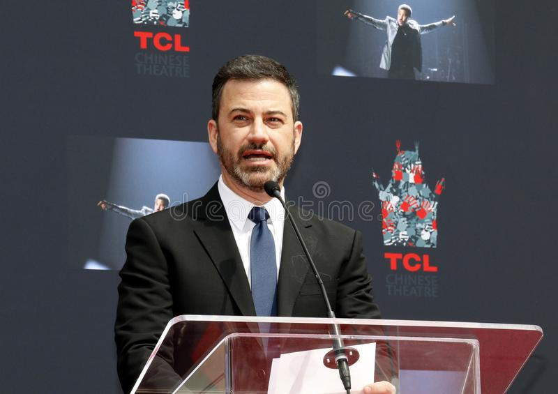 Jimmy Kimmel photo libre de droits