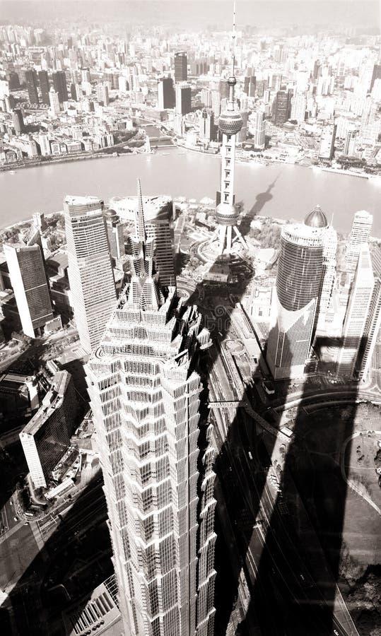 Jin Mao i perła Góruje Szanghaj Chiny fotografia stock