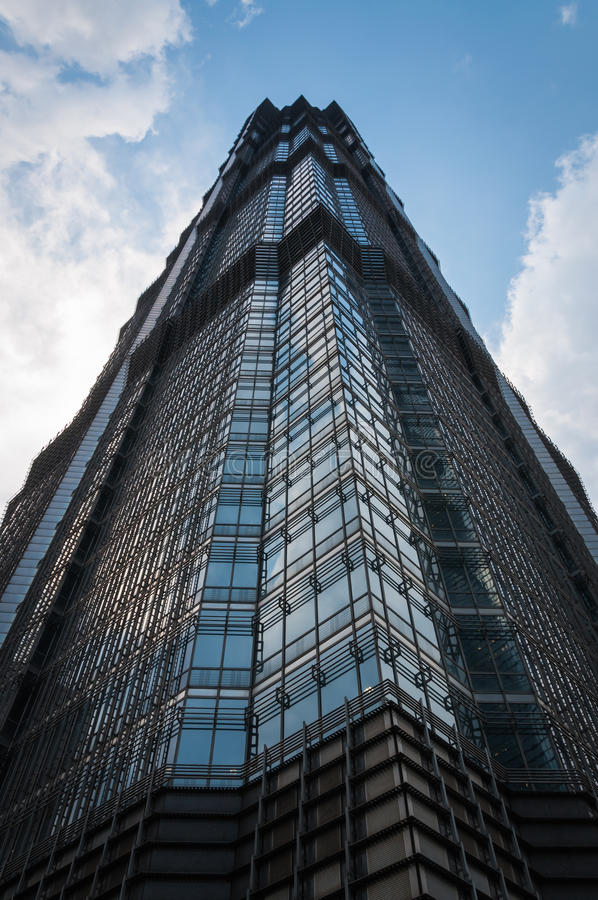 Jin Mao Tower images stock