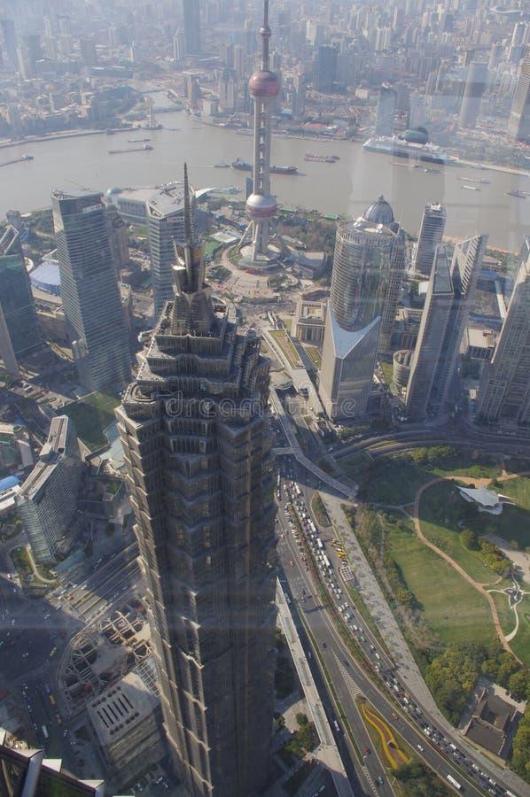 Jin Mao Tower stock photos
