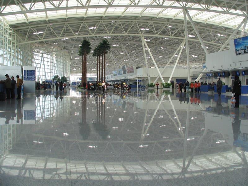 Jinan International Airport, China stock photo