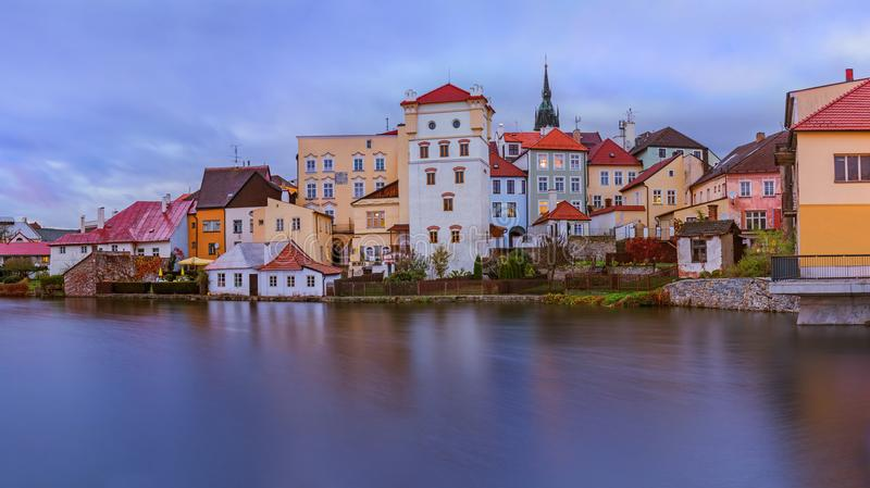 Jindrichuv Hradec castle in Czech Republic stock photo