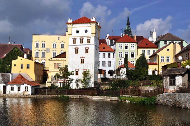 Jindrichuv-hradec, Czech Republic stock images