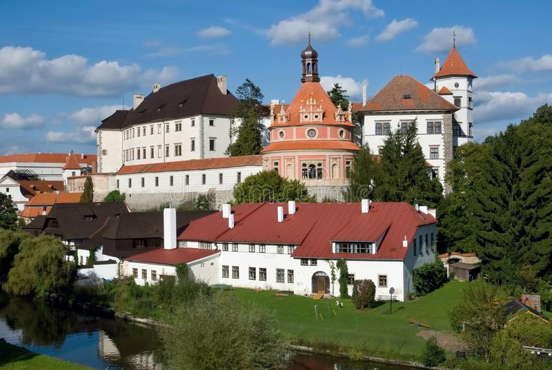 Jindrichuv Hradec, Czech republic royalty free stock photography