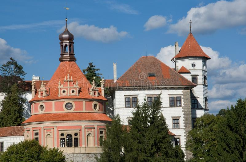 Jindrichuv Hradec, Czech republic stock photography