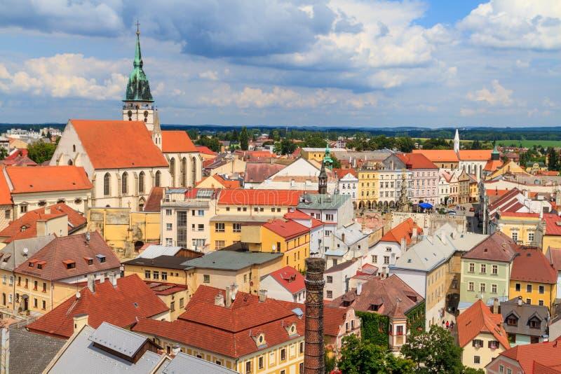 Jindrichuv Hradec (Neuhaus), République Tchèque photographie stock