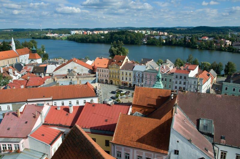 Jindrichuv Hradec, République Tchèque photographie stock libre de droits