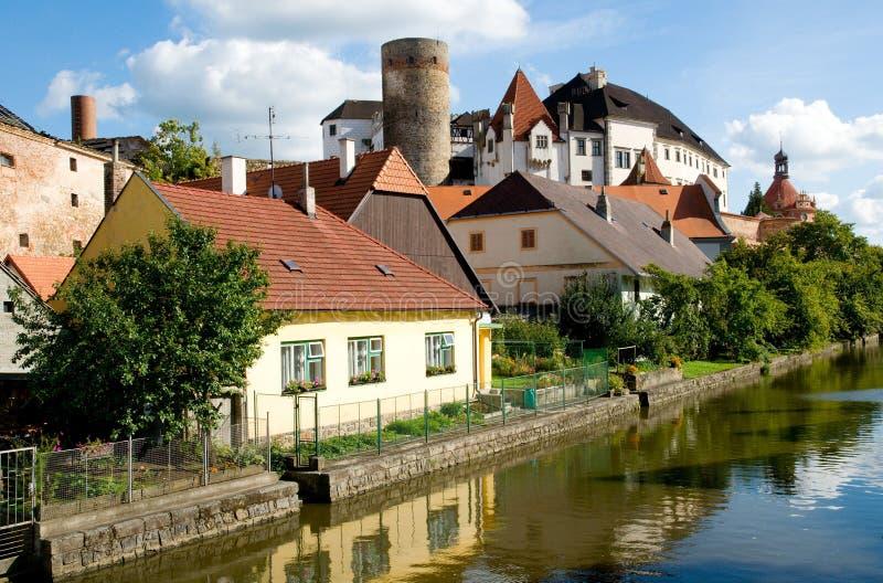 Jindrichuv Hradec, República Checa imágenes de archivo libres de regalías