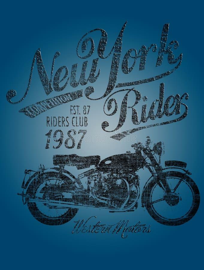 Jinete de las motocicletas imágenes de archivo libres de regalías