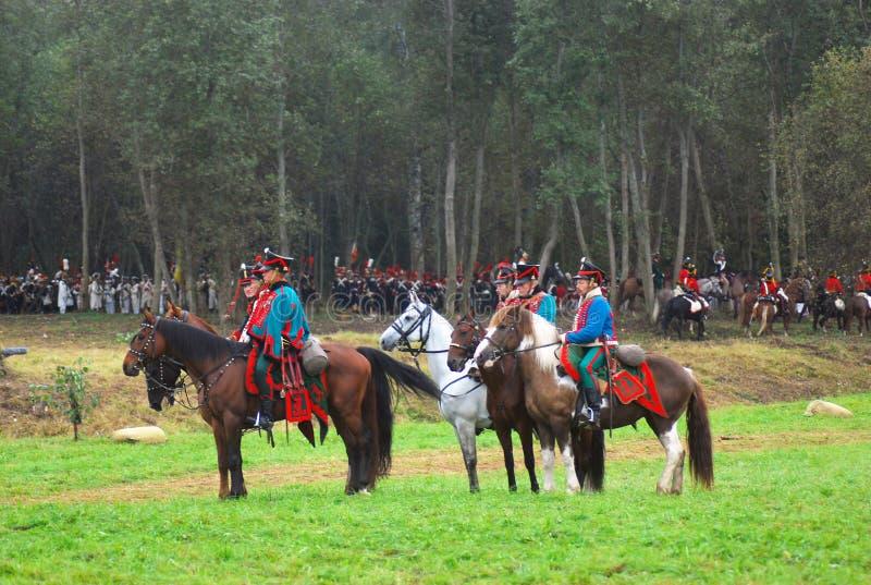 Jinetes del caballo fotografía de archivo libre de regalías