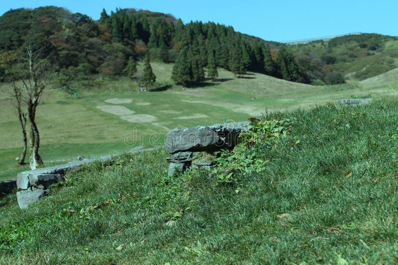 Jinfo berg arkivbilder