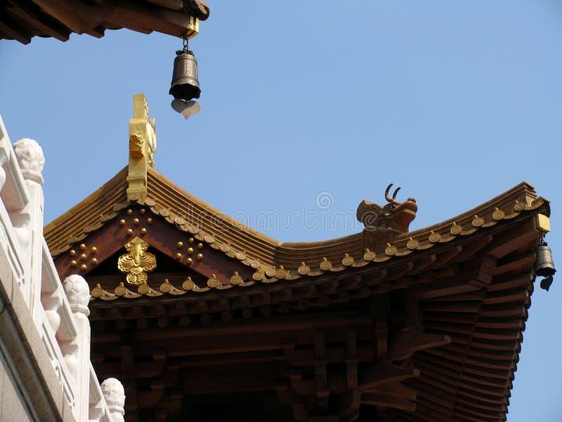jing的上海寺庙 库存照片